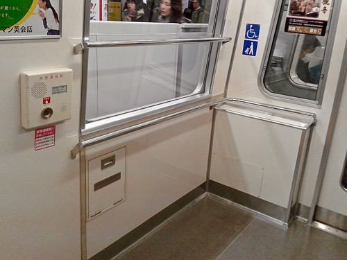 Wheelchair Spaces in Train Carriages