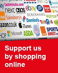 Support us by shopping online