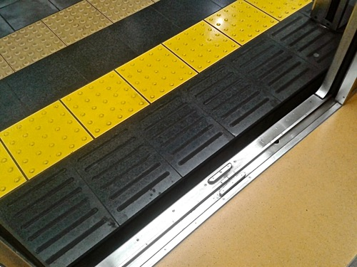 Step-Free Access From Platform to Train