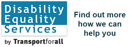 Disability Equality Services Logo – Click here to find out more how we can help you