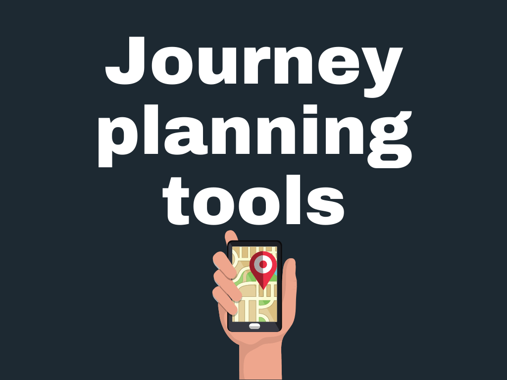 Journey planning toolks