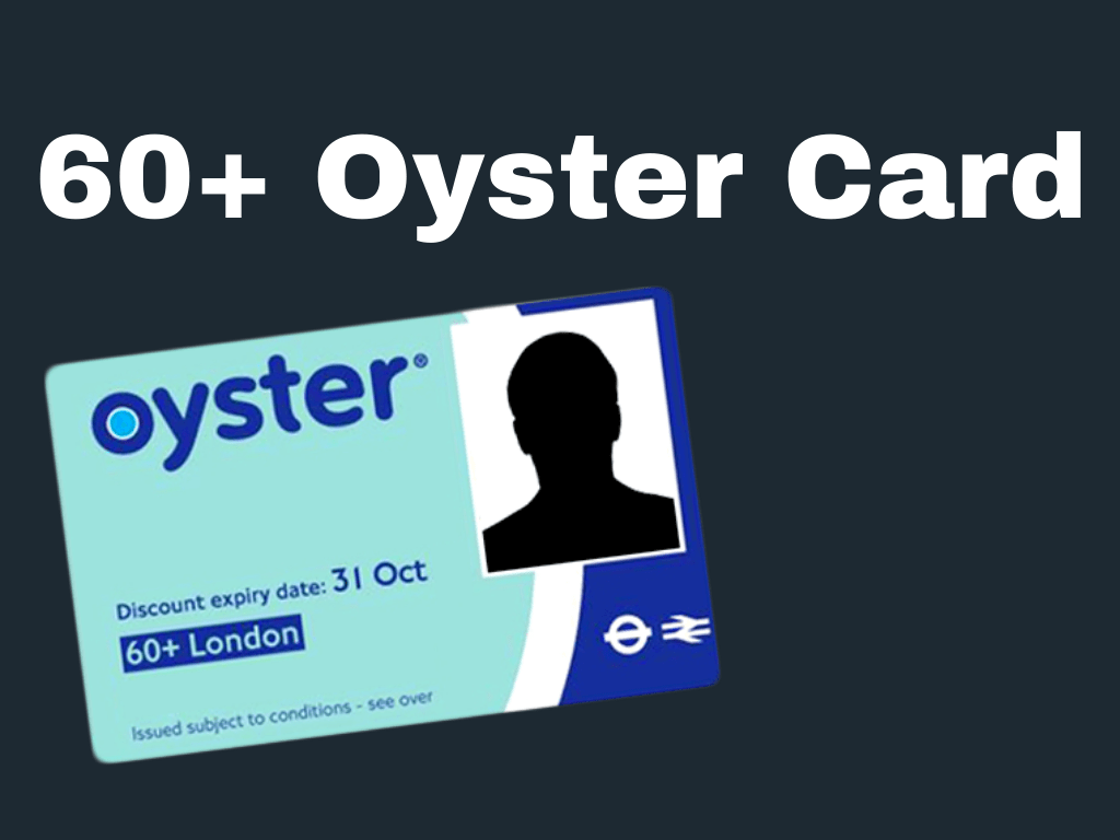 60+ Oyster Card