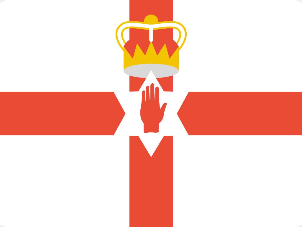 Northern Ireland flag (Ulster Banner)
