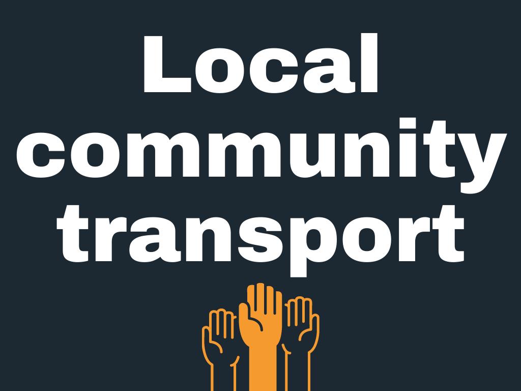 Local community transport