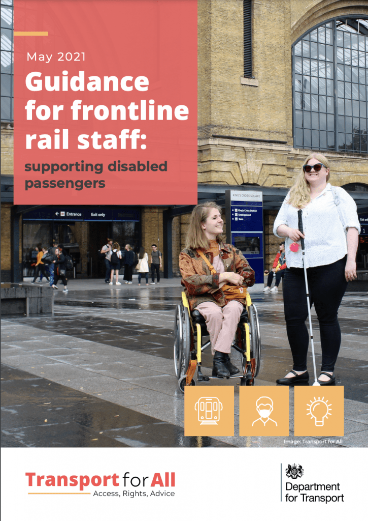 Guidance for frontline rail staff: supporting disabled passengers