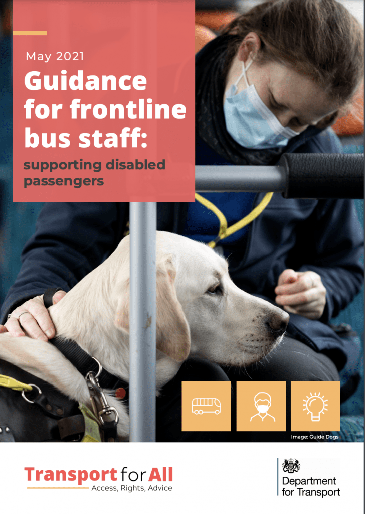 Guidance for frontline bus staff: supporting disabled passengers
